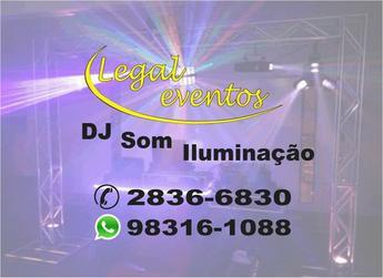 Dj,som,iluminação,telão,retro,videokê...  Tel  2836-6830